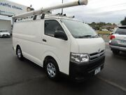 2013 Toyota Hiace KDH201R MY12 LWB White 5 Speed Manual Van Oakleigh Monash Area Preview