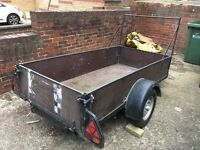 Car trailer, good size, solid and can carry decent weight, all electrics working £250 priced to sell