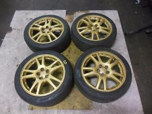 Subaru WRX STI 5X100 Wheels Tires Jante JDM Winter