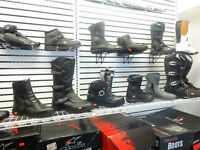 MOTORCYCLE RIDING BOOTS IN STOCK NOW AT HALIFAX MOTORSPORTS!!