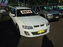 2004 Holden Commodore VZ Executive White 4 Speed Automatic Wagon Woodbine Campbelltown Area Preview