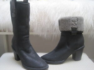 Costume National Shearling boots -