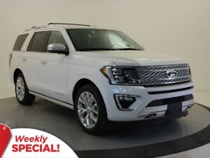 2018 Ford Expedition Platinum 4x4-Leather,SYNC Connect,Tow Pack