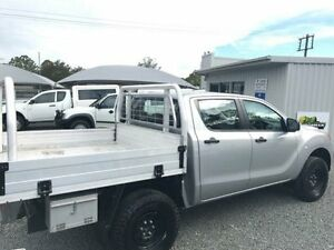 2013 Mazda BT-50 MY13 XT (4x4) Silver 6 Speed Manual Dual C/Chas Gloucester Gloucester Area Preview