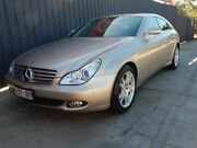 2006 Mercedes-Benz CLS350 C219 Coupe Gold 7 Speed Sports Automatic Sedan Blair Athol Port Adelaide Area Preview