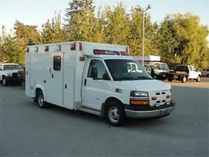 2009 CHEVROLET EXPRESS 3500 DRW AMBULANCE **DIESEL**