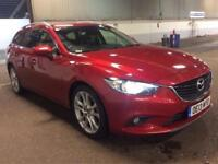 2013 Mazda 6 2.2d [175] Sport Nav 4dr Auto Turbo Diesel Estate 4 door Saloon