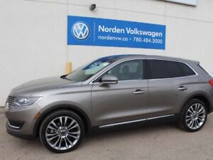 2016 Lincoln MKX Reserve - PANORAMIC SUNROOF,LEATHER, NAV, COOLE
