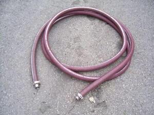 Lot de boyau 1 1/2'' et 2'' avec connections acier inoxydable - Hoses