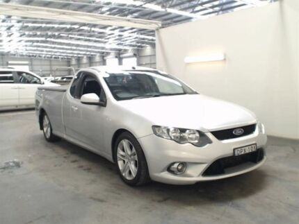 2011 Ford Falcon FG Upgrade XR6T Silver 6 Speed Auto Seq Sportshift Utility