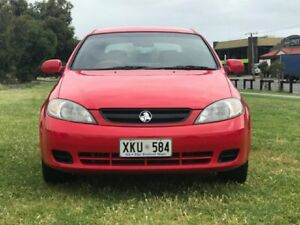 2006 Holden Viva JF Red 5 Speed Manual Hatchback