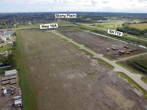 2 Acres Industrial Lots in Stony Plain