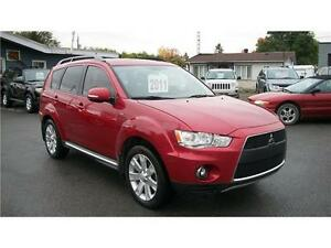 2011 Mitsubishi Outlander gt awc 7 passagers