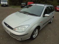 Ford Focus 1.6 ZETEC, AUTOMATIC, ESTATE CAR (silver) 2002