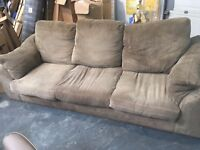 FREE FOR UPLIFT 3 SEATER CORDED SOFA