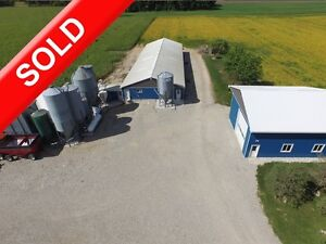 SOLD: Farrow to Finish in Norwich.Land, Shop, Barn & Biosecurity