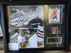 Lots of Autographed custom framed NHL Hockey for under $99