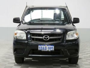 2008 Mazda BT-50 B2500 DX Black 5 Speed Manual Cab Chassis Jandakot Cockburn Area Preview