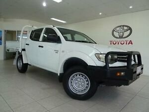 2011 Mitsubishi Triton MN MY11 GLX White 5 Speed Manual Parramatta Park Cairns City Preview
