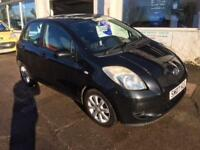 2007 Toyota Yaris 1.3 ( 85bhp ) MMT Zinc 5 Door petrol in black