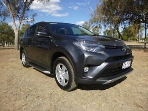 2018 Toyota RAV4 ZSA42R MY18 GX (2WD) Graphite Continuous Variable Wagon Chinchilla Dalby Area Preview