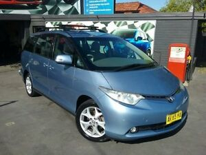 2008 Toyota Tarago GSR50R GLX V6 Blue 6 Speed Automatic Wagon Greenacre Bankstown Area Preview