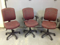7 office chairs available for sale