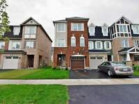 Queen St./Chinguacousy 4+1Br/4Wr End UnitTown House,Fin W/O Bsmt