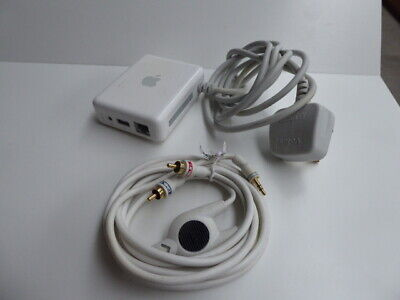 Apple Airport Express with UK Plug,802.11a/b/g/Draft N Model A1264