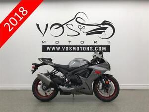 2018 Suzuki GSX-R600L8 - V3196 - No Payments For 1 Year**