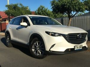 2016 Mazda CX-9 TC Touring SKYACTIV-Drive i-ACTIV AWD Pearl White 6 Speed Sports Automatic Wagon