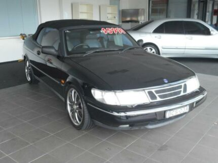 1997 Saab 900 S 2.3I Black 5 Speed Manual Convertible Haberfield Ashfield Area Preview