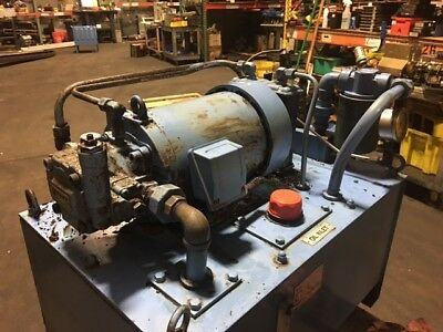 Nachi 3 HP Hyd. Unit w/ Tank, Nachi Variable Vane Pump VDC-1B-2A3-HU-1688K, Used