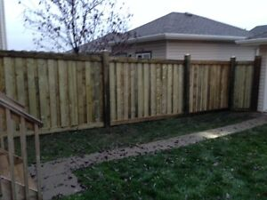 GET YOUR DECK OR FENCE BEFORE XMAS!! WE DONT MIND THE WEATHER! Regina Regina Area image 2