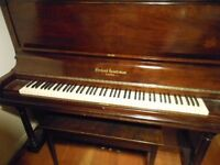 Heintzman upright grand