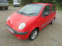 Daewoo Matiz XTRA (red) 2004