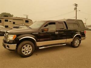 2009 Ford F-150 SUP CAB 4X4 XLT-4.6 LTR CANOPY - 70 POINT SAFETY