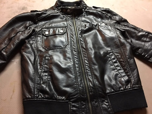 Guess Men's Motorcycle Jacket