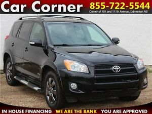 2009 Toyota RAV4 Sport $142 B/W! AWD/LEATHER/SUNROOF/BACKUP CAM!