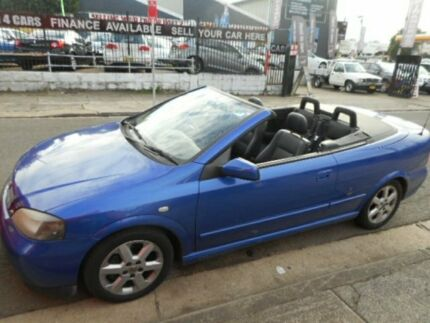 2003 Holden Astra CONVERTIBLE BERTONE EDITION Blue Automatic Convertible