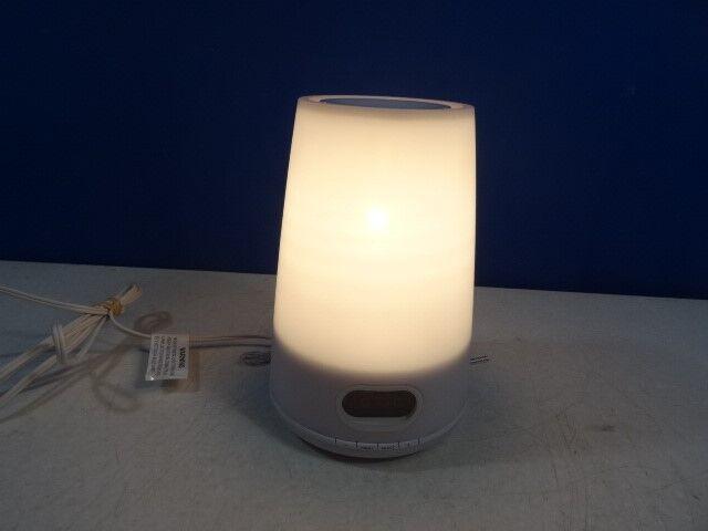 Philips HF3470 Wake Up Light Dawn Simulator, White Clock Radio