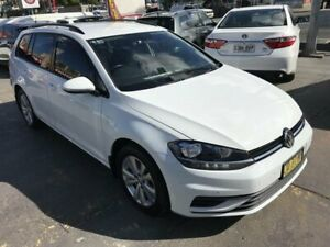 2018 Volkswagen Golf AU MY18 Update 110 TSI Trendline White 7 Speed Auto Direct Shift Wagon Rockdale Rockdale Area Preview