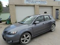 2004 Mazda Mazda3 GT-SUNROOF-AUTO-ALLOYS