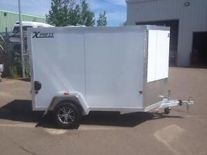 New 2016 Xpress 5' x 8' Aluminum Enclosed Trailer