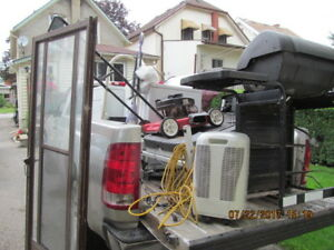 NO NEED TO PAY FOR WHITE GOODS OR JUNK METAL DROP OFF