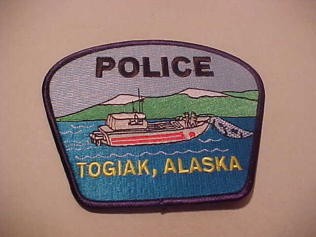 TOGIAK  ALASKA  ISSUE POLICE PATCH **** FREE SHIP U.S.A. *** SHOULDER SIZE NEW