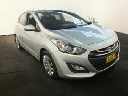 2015 Hyundai i30 GD MY14 Active Silver 6 Speed Automatic Hatchback