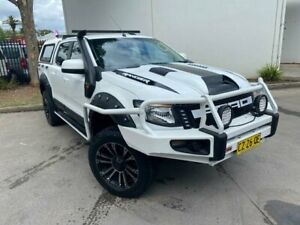 2012 Ford Ranger PX XL Utility Double Cab 4dr Spts Auto 6sp, 4x4 1148kg 2.2DT White Sports Automatic Oxley Park Penrith Area Preview
