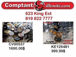 Pour débutant et pour professionnel, nous avons le drum dont vous avez besoin  chez Comptant  illimite.com