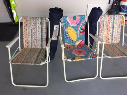 Used camping chairs for sale - $5 each